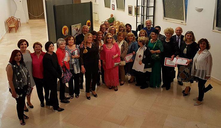 Akyol Sanat Evi sanatçıları İtalya'da