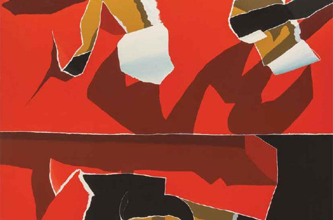 Red & Black Composition satışa sunuluyor