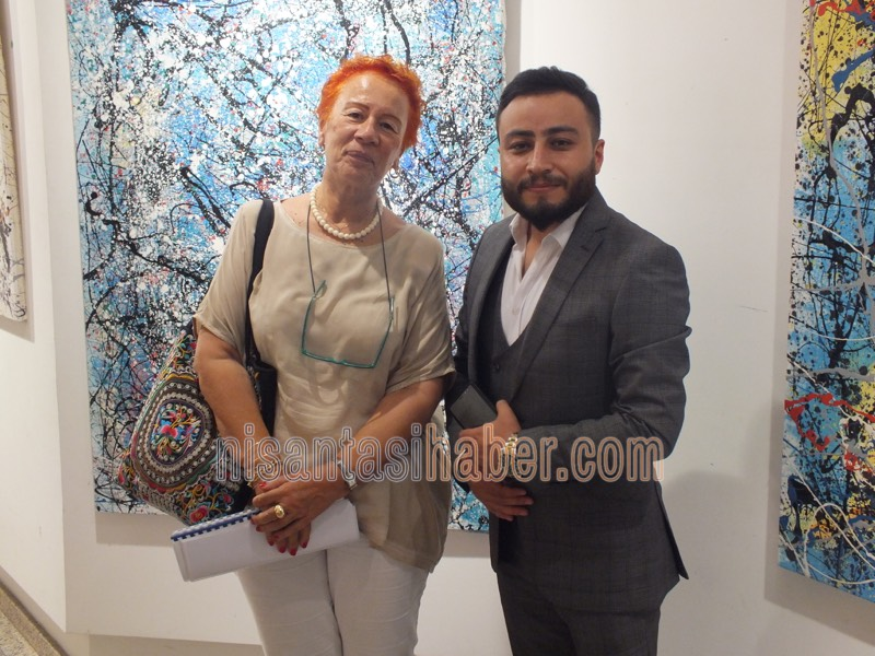 Talip Keser sergisi Nişart'ta