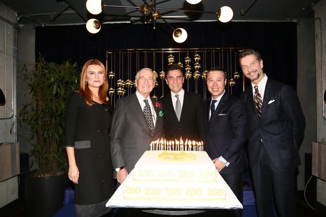 Brooks Brothers 200 yaşında / Füsun Kuran, Rahmi Koç, Selçuk Tümay, Andy Lew, Luca Gastaldi