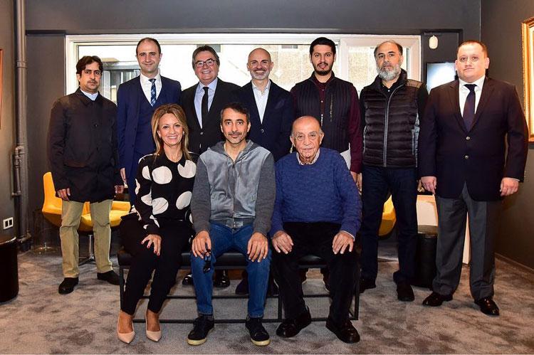 Katar Kültür ve Spor Bakanından Ayhan Türker'e Ziyaret
