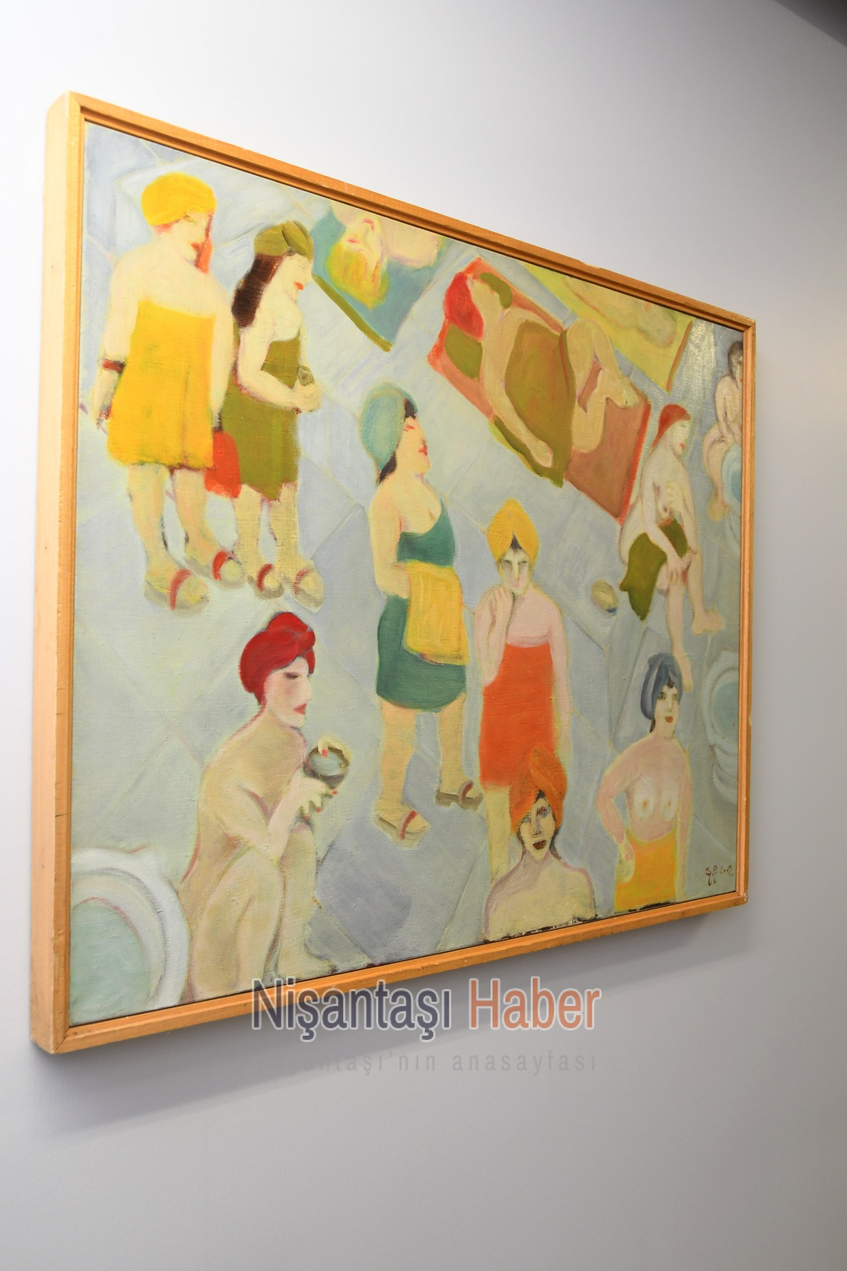 Teşvikiye Sanat Galerisi'nde 35. yıl sergisi