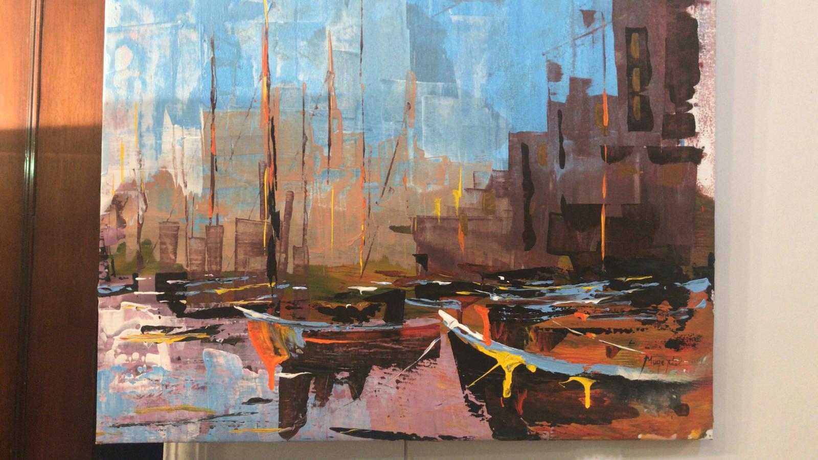 Müge Adal, Marki Sanat Galerisi'nde sergi açtı